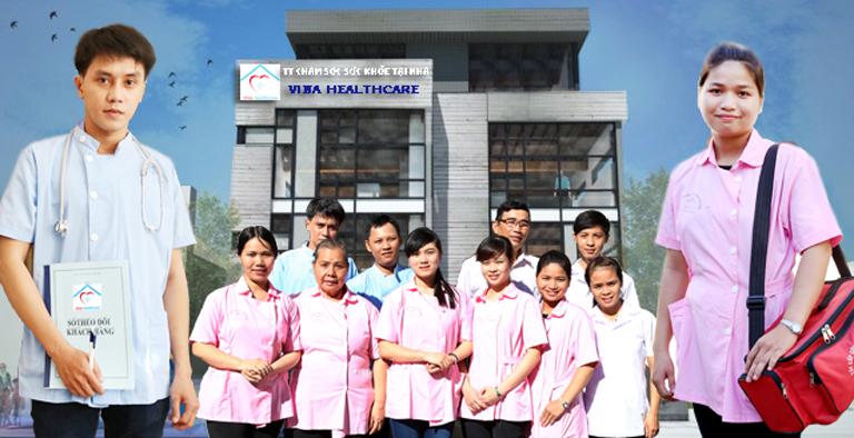 Điều dưỡng chăm sóc tại nhà Vina Healthcare