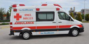 dịch vụ xe cứu thương vina